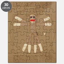 Vitruvian monkey shirt Puzzle