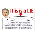 Bush LIE Postcards (Package of 8)