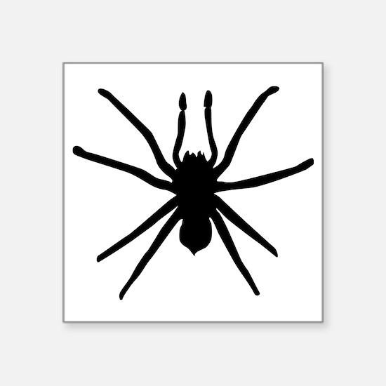 "Spider Square Sticker 3"" x 3"""