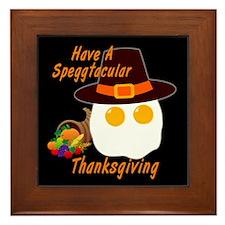 Speggtacular Thanksgiving! Framed Tile