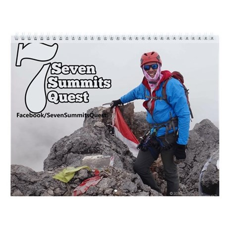 Seven Summits Quest Wall Calendar