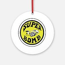 superbombsstickerv4 Round Ornament