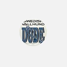 SwedishVallhundDude Mini Button