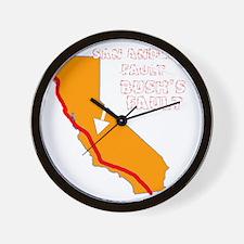 2-bushfault_dk2 Wall Clock