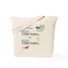 Zero Tolerance, Birds Tote Bag