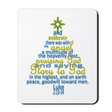 Luke 2:13-14 Mousepad