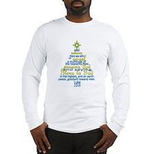 Luke 2:13-14 Long Sleeve T-Shirt
