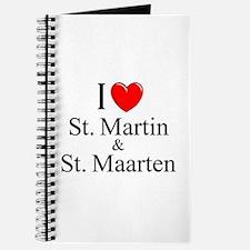 """""""I Love St. Martin & St. Maarten"""" Journal"""