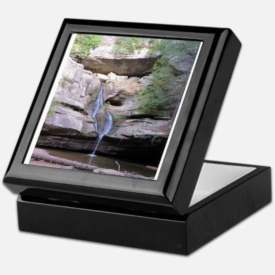 Cedar Falls Hocking Hills Keepsake Box