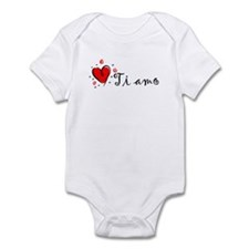 """I Love You"" [Italian] Infant Bodysuit"