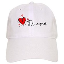 """I Love You"" [Italian] Baseball Cap"