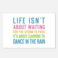 Cute Dance quotes Postcards (Package of 8)
