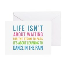 Cute Dance quotes Greeting Cards (Pk of 20)