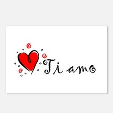 """""""I Love You"""" [Italian] Postcards (Package of 8)"""