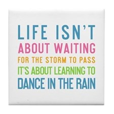 Cute Dance quotes Tile Coaster