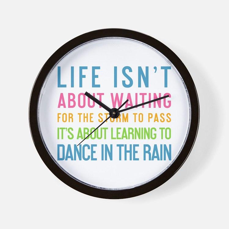 Cute College sayings Wall Clock