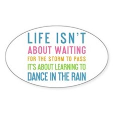 Cute Dance in the rain Decal