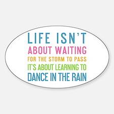 Cute Dance saying Sticker (Oval)