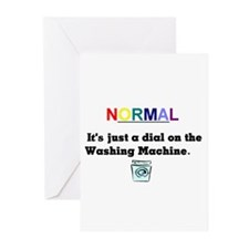 Normal Anybody?? Greeting Cards (Pk of 10)