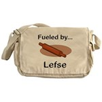 Fueled by Lefse Messenger Bag