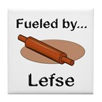 Fueled by Lefse Tile Coaster