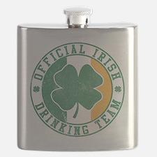 Official Irish Drinking Team Flask