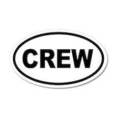 Basic Crew 20x12 Oval Wall Peel