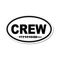 Crew Eight 20x12 Oval Wall Peel