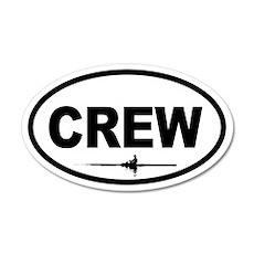 Crew Scull 20x12 Oval Wall Peel