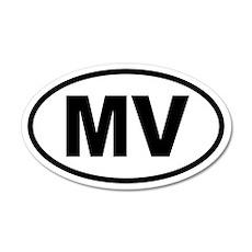 Martha's Vineyard MV 20x12 Oval Wall Peel