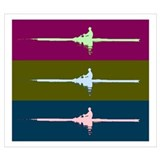 Rowing crew Wrapped Canvas Art