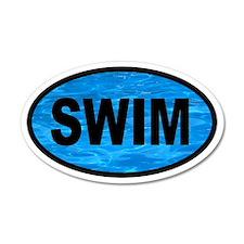 Basic SWIM Pool 35x21 Oval Wall Peel