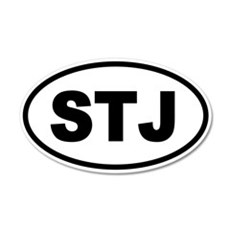 Basic St. John's STJ 20x12 Oval Wall Peel