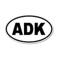 Basic Adirondack ADK 20x12 Oval Wall Peel