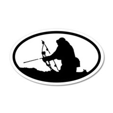 Bowhunting 20x12 Oval Wall Peel