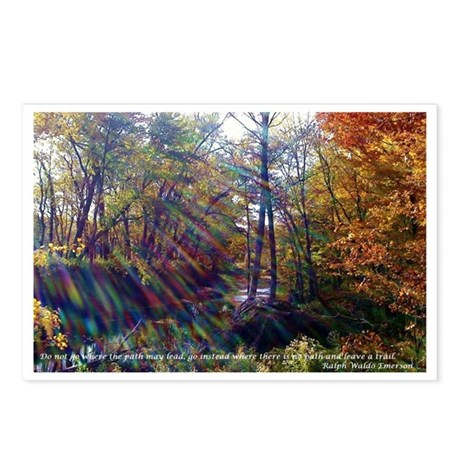 Where the path leads Postcards (Package of 8)
