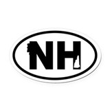New hampshire Car Magnets
