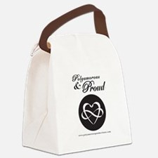 POLY and PROUD Canvas Lunch Bag