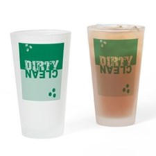 dirtycleansq_greens Drinking Glass