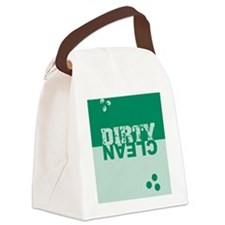 dirtycleansq_greens Canvas Lunch Bag