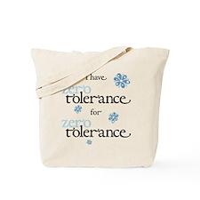 Zero Tolerance, Floral Tote Bag