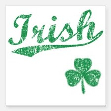 "irishbbstyle2 Square Car Magnet 3"" x 3"""
