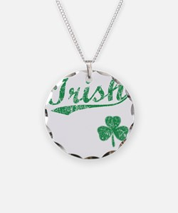 irishbbstyle2 Necklace Circle Charm