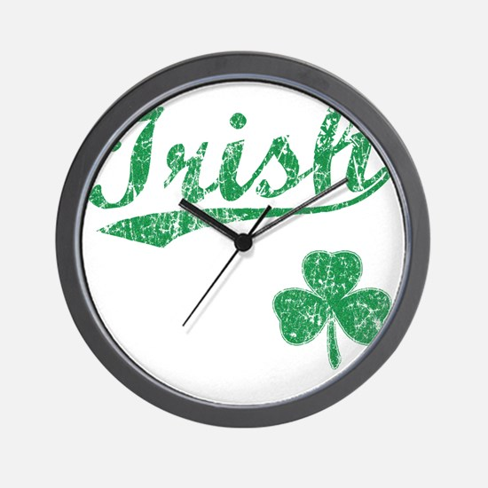 irishbbstyle2 Wall Clock