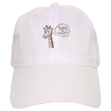 Everyone's a critic giraffe Baseball Cap