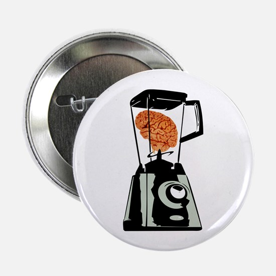 "Brain in Blender 2.25"" Button (10 pack)"