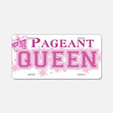 Pageant_queenbk Aluminum License Plate