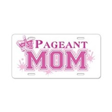 Pageant_momdk Aluminum License Plate