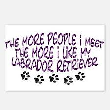 I like my Labrador Retriever Postcards (Package of