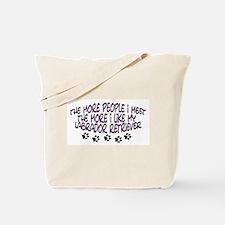 I like my Labrador Retriever Tote Bag